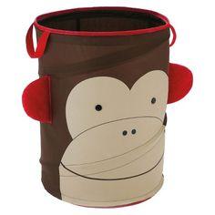 Skip Hop Zoo Little Kids & Toddler Pop-up Hamper - Monkey