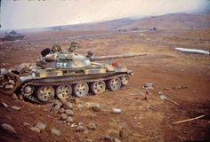 Syrian T-62 1973