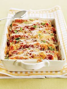 Turkey Enchiladas (healthy!)- these are GREAT for a crowd. i think a 1/2 recipe is good for 2 people