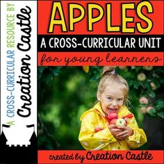 This cross-curricular unit is full of great resources to utilize during your apple week(s) this fall! Your students will learn about the apple life cycle, parts of an apple, things made from apples, and more.I have included a table of contents to find what you need quickly, as well as some teacher direction pages where I offer some suggestions and/or explain how to use each piece of the unit.LANGUAGE ARTS Apples on the Ground Poem The Apple Stand Reader At the Apple Stand Reader MATH Our…
