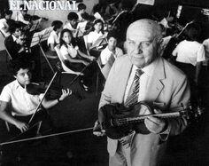 Emil Friedman a los 76 años. Foto realizada por su amigo personal José Sardá como un recuerdo afectuoso para ser publicada en sus memorias. Caracas, 23-03-1984 (JOSE SARDA / ARCHIVO EL NACIONAL)