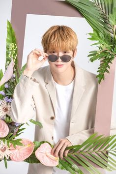 """Daniel for Kissing Heart"" Peach Aesthetic, Kpop Aesthetic, Aesthetic Photo, Daniel K, Produce 101 Season 2, Kim Jaehwan, Flower Boys, Jinyoung, K Idols"