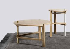 A-Side Coffee & End Table by Hay Denmark