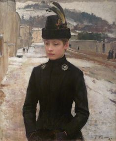 My favourite portrait by Emile Friant | 19th Century Realism