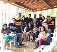 Sexta com pessoas especiais. Parabéns mais uma vez @miralvalemos e @saluasouza !