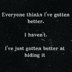 I'm not okay....