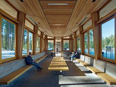 Tahoe City Transit Center | WRNS Studio; Photo: Bruce Damonte/WRNS Studio | Bustler