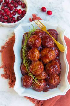Paleo Cranberry Bbq Turkey Meatballs