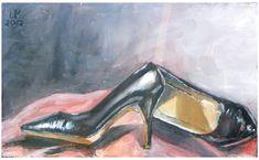 ზეთი, მუყაო (36/23სმ) Artist Painting, Paintings For Sale, Online Art Gallery, Shoes, Zapatos, Shoes Outlet, Shoe, Footwear