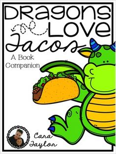 This cute story, Dragons Love Tacos, by Adam Rubin, is one your students will just love!  This book companion will help your students with word study, comprehension, writing and more!Included are the following printables:~Comprehension (x2)~Parties I Love Planning Sheet~Parties I Love Writing Paper~How to Make Tacos Braintorm~How to Make Tacos Planning Sheet~How to Make Tacos Writing Paper~Write Your Own Story with Vocabulary~Word Search~Fill in the Blank with Story Vocabulary~Adjective…