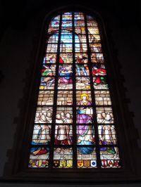 Gouda Stained glasses, gebrandschilderd raam, Kirchenfenster