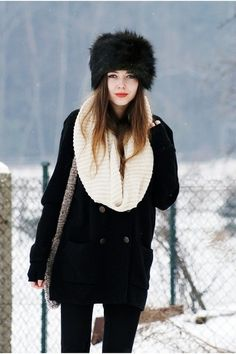 very Russian looking!  Sophie LB Hofmann this is how I picture you looking  when 05f9e9cc8568