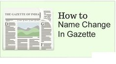 How To Change in name    How to make E-Gazette    Tech Fest