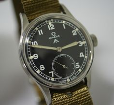 Omega rare army watch