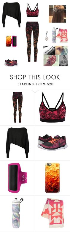 """Reincarnated #17"" by jazmine-bowman on Polyvore featuring NIKE, Crea Concept, Casetify, Victoria's Secret, Billabong and Bling Jewelry"