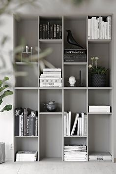 IKEA bookcase Valje in color LADY Supreme Finish matt by Jotun (Norwegian brand)