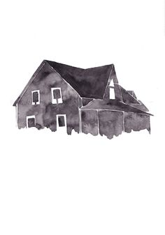 I draw this house for the 2013 calendar march