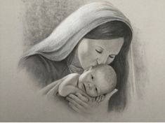 Beautiful fine art for sale and art instruction for beginners to advanced students in Southwest Missouri. Mary And Jesus, Black And White Portraits, Art For Sale, Madonna, Charcoal, Disney Characters, Fictional Characters, Fine Art, Gray
