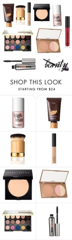 """""""Untitled #13"""" by mirandabow ❤ liked on Polyvore featuring beauty, Benefit, tarte, NARS Cosmetics, Bobbi Brown Cosmetics and Urban Decay"""