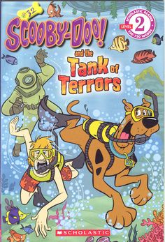 A ghost diver is haunting the local aquarium. Now it's up to Scooby and his friends to unmask that spooky snorkeler! Vintage Comic Books, Vintage Cartoon, Vintage Comics, Vintage Posters, Scooby Doo Images, Scooby Doo Pictures, Cartoon Posters, Cartoon Pics, Old Cartoons