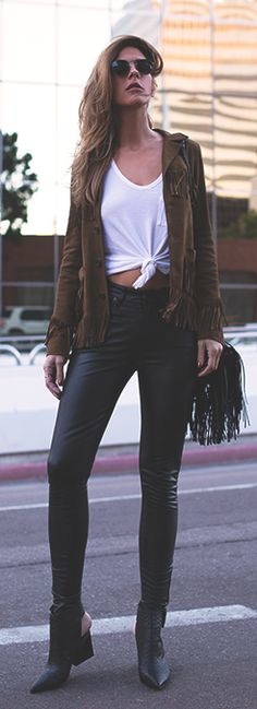 Brown And Black Inspiration Outfit