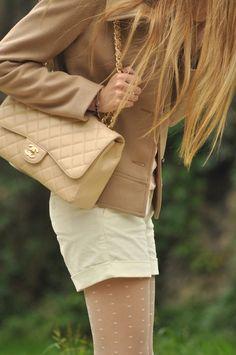 I want a nude Chanel flap bag soooo much!