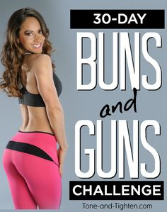 """Hey everyone! Welcome to Tone-and-Tighten.com! I get it – you're probably here to learn more about this awesome """"30-Day Buns and Guns Challenge"""". Trust me – it&…"""