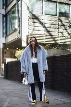 London Fashion Week Street Style Fall 2018 Day 2 - The Impression