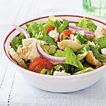 Pita Salad with Tomatoes, Cucumber, and Herbs Recipe | MyRecipes.com