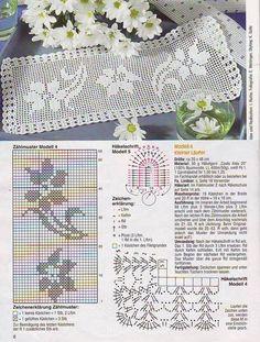 Kira scheme crochet: Scheme crochet no. 1055