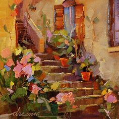 """Dreama Tolle Perry   """"Rose Steps of Italy"""""""