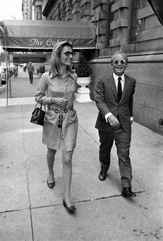 Lee Radziwill and Truman Capote, love their style