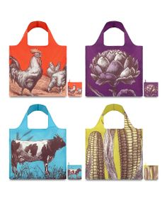 Farm Reusable Bag Set