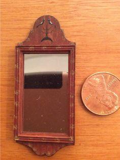 Dollhouse Miniature Artisan James Hastrich Wall Mirror