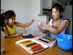 Korean Food: How to Make Kimbap [LifelongEnglish.com]