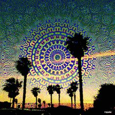 gif gifs trippy hippie sky lsd landscape trees acid psychedelic space trip nature stoned Trippy gifs Take A Trip psychedelic mind psychedelic inside