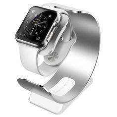 Hoy con el 59% de descuento. Llévalo por solo $39,500.Reloj de escritorio Cargador para Apple reloj de aluminio Construir cuna.