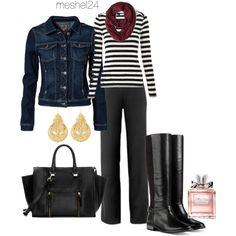 """Fall Outfit"" by meshel24 on Polyvore"