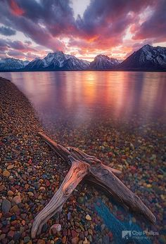 Clearing Storm jackson Lake Wyoming - Chip Phillips Photography