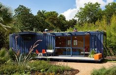Train car in your backyard... Why not?!