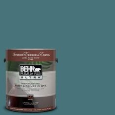 behr premium plus ultra 1 gal home decorators collection sophisticated teal eggshell enamel interior - Behr Home Decorators Collection