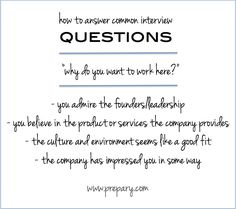 """Interview Tip: HOW TO answer the common interview question """"why do you want to work here?""""  #careeradvice #interviewtips"""