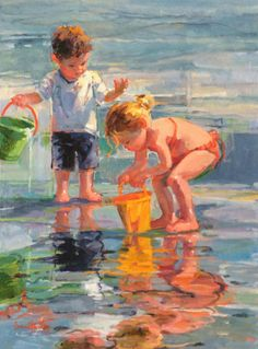 "Galleries in Carmel California- Jones & Terwilliger - Corinne Hartley, Artist  ""Rippled Reflection"""