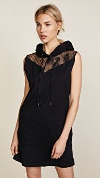 New McQ - Alexander McQueen Sleeveless Hoodie Dress online. Perfect on the Michaela Buerger Clothing from top store. Sku cjfy27135cyar98214