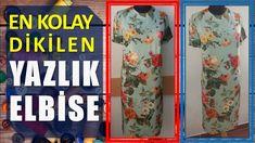 Kullanımı Rahat, Dikimi Kolay Pratik Yazlık Elbise (Tam Sürüm-Fonlu) | D...