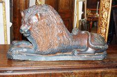 Early C19th Stoneware Lion c. 1820 England US$3,528