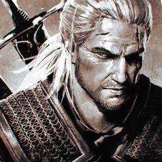 Geralt by ilya kuvshinov