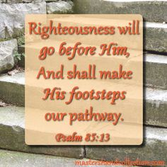 The truth of #Jesus is reflected in this #bibleverse about righteousness. As we go through today, let's praise the Lord our Savior and King and follow Him!