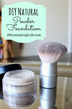 How to make all natural foundation and blush! Seriously amazing organic ingredients to keep your skin looking radiant!
