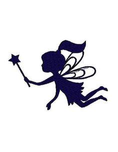 INSTANT Download Fairy Silhouette digital von Institchesembroidery                                                                                                                                                                                 Mehr